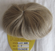 KEMPER Craft DOLL HAIR WIG Style BABY BOY Fits SIZE 15cm - 18cm Colour BLONDE D Modacrylic JAPAN Fibre