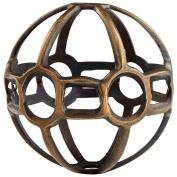 CYAN DESIGN 08290 Small Breezy Ball Filler, ANTIQUE BRASS