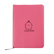 LandFox Molang Diary Weekly Planner Agenda Notepad Notebook Cute Rabbit Kawaii