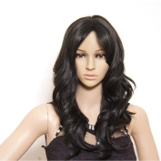 Longqi Beauty Soft Hair Sexy New Fashion 2 Colours Long Wave Lady's Synthetic Hair Wig Full Lace Cosplay