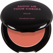 Show Me Your Cheeks Powder Blush (cruelty free and paraben free) - Peach Pink Net Wt. 5 g / 5ml