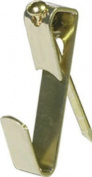 Hillman Fasteners 122304 12cm x 4.9cm . Brass Plated Classic Picture Hanger - 3 Pack, Pack Of 10