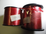 Unique Industries #4858 Red Ribbon 700 Yards - You Get Two Rolls for 700 Total Yards
