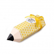 INDIGOSHOP Pencil Shaped Gift Box 5ea in set 4 types 01 Lemon