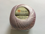 Pale Orchid (Very Light Pinkish-Purple) - Yarn Art Tulip Size 10 Microfiber Thread - 50 Gramme, 273 Yards