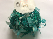 Trendsetter Joy #1339 - Teal & Turquoise Tapestry - Yarn with Ribbon Flags - 25 Gramme, 62 Yards