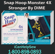 Snap Hoop Monster Magnetic Embroidery Frame 260x400mm RM4 for Bernina 750-880