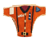 Silk Road Bazaar The Astronaut Nappy Cover, Orange