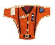 Silk Road Bazaar The Astronaut Nappy Cover, Orange