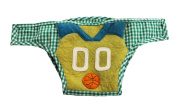 Silk Road Bazaar The Basketball Star Nappy Cover, Green/Yellow/Orange