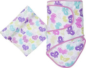Miracle Blanket & Matching Muslin Swaddle Combo Pack