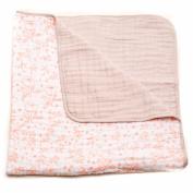 Little Unicorn Cotton Muslin Quilt Blanket - Garden Rose