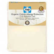Sealy Organic Cotton Allergy Protection Crib Mattress Pad