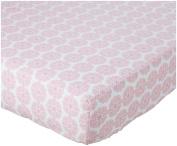 Oliver B Crib Sheet - Pink Petals