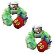 Very Hungry Caterpillar Neck Support Pillow, Children's Neck Pillow, Caterpillar, Green, 2 Pack