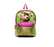 [RusToyShop] School backpack Masha and the Bear schoolboy satchel school bag kids Masha and the Bear, Baby Bag, Backpack Kids, Bag Girl Cute Backpack Little Girl,