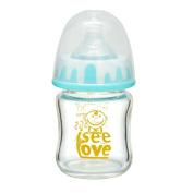I See Love Anti-broken BPA-free Premium Lovely Glass Feeding Baby Bottle ,120mls