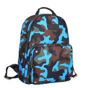 UpdateClassic Camouflage Nappy Backpack Large Capacity Travel Bag