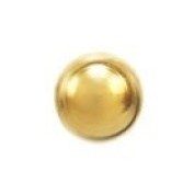 Studex System 75 ear piercing studs long post 3mm 24k gold ball 7561-0300-23