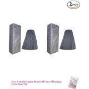2 Packs of Hair Colour Permanent Hair Cream Dye Light Ash Grey