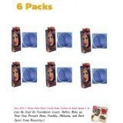 6 X New BerinaPermanent Hair Dye Colour Cream # A41 Dark Blue Cool Hot Crezy Fashions