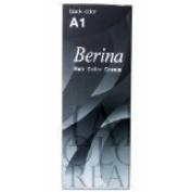 New BerinaPermanent Hair Dye Colour Cream Black Colour