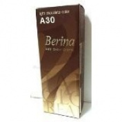 New BerinaPermanent Hair Dye Colour Cream No. Light Chocolate A30., AsiA