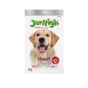 New Jerhigh Beef Stick Premium Dog Snack Great Taste for Great Happiness 70g.