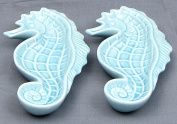 VoojoStore Ceramic Seahorse Set/2 For Home and Garden Decoration