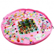 Kangaroobaby Storage Bags Organiser Large Portable Kids Play Mat Toys Storage Quick Pouch