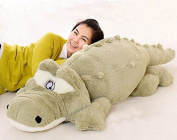 YunNasi Giant Green Crocodile Soft Plush Toys Large Stuffed Animals Alligator Baby Doll