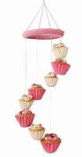Silk Road Bazaar Cupcakes Mobile, Pink/White
