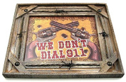 VoojoStore We Don't Dial 911 Picture For Home and Garden Decoration