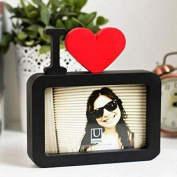 15cm Mini I LOVE YOU Romantic Couple Photo Frame Desktop Bedroom Decoration Frame