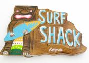 souvenir sign.California, Surf shack, large surf wall decor plaque 15 x 9 1.2 wall decor....