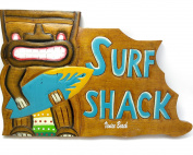 Venice Beach, large surf shark wall decor sign, souvenir. Size , size 24cm x 38cm