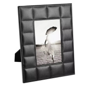 UnionBasic PU Leather Crocodile Textured 5 x 7 Picture Frame Table Top Photo Frame