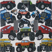 Monster Truck Double Toggle Light Switch Plates Covers / Monster Truck Wall Decor