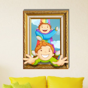3D Baby Kids Room Cartoon Children Playing Funny Games Wall Decals Removable Paper Stickers Art DIY Decoration
