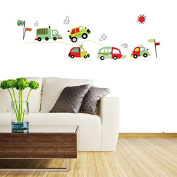 DIY Coloful Car Removable Wall Decal Stickers Art Kid Room Home Decor