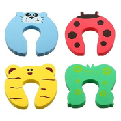 Baby Animal Helper Doorstops Guard Lock Stopper Finger Pinch