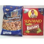 Mixed Nuts & Sun-Maid Raisins Thank you to all the patrons We hope that he has gained the trust from you again the next time the service