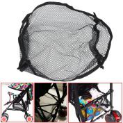 Universal Black Under Storage Net Bag Buggy Stroller Pram Basket Shopping Baby Item Pushchair Pocket