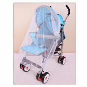 100x90cm Baby Pram Pushchair Mosquito Net Fly Midge Insect Bugs Cover Stroller Protector Polyester Insects Car