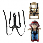 5-Point Baby Safe Belt Strap-Infant Harness Stroller Chair Pram Spark Belt Black