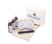 The Best Beard Company Beard Care Kit for Men Includes All Natural and Organic Beard Balm and Beard Oil and Comb 60ml