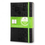 Moleskine Evernote Smart Notebook Large Squared Black Hard