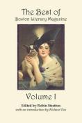 The Best of Boston Literary Magazine Volume One