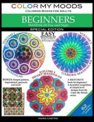 Color My Moods Coloring Books for Adults, Mandalas Day and Night for Beginners [Special Edition]