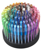 ECR4Kids GelWriter Multicolor Gel Pens in Rotating Stand